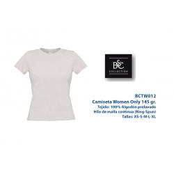 Camiseta Mujer: BCTW012B