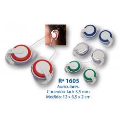 Auriculares: 1605