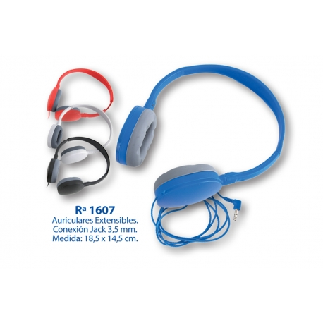 Auriculares: 1607