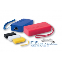 Power Bank: 1611
