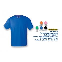 Camiseta Niño: 610010C