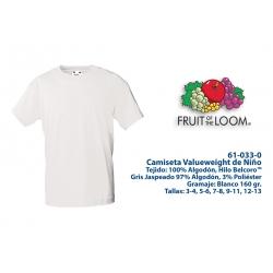 Camiseta Niño: 610330B