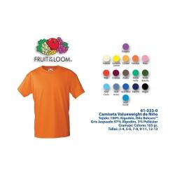 Camiseta Niño: 610330C