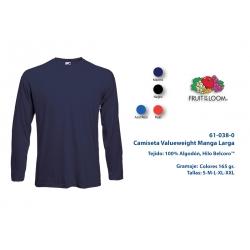 Camiseta Adulto M/L: 610380C