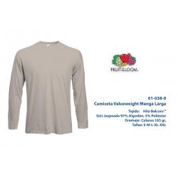 Camiseta Adulto M/L: 610380G
